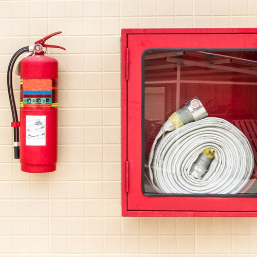 In addition to homeowners insurance, one of the most important things you can do to protect your home is have multiple working fire extinguishers.