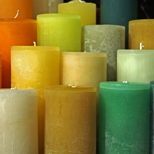 Candle fires are on the rise, so be careful.