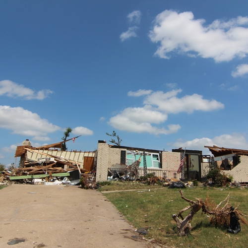 Each years About 1,000 tornadoes touch down in the U.S., causing billions of dollars in damage and destroying homes.