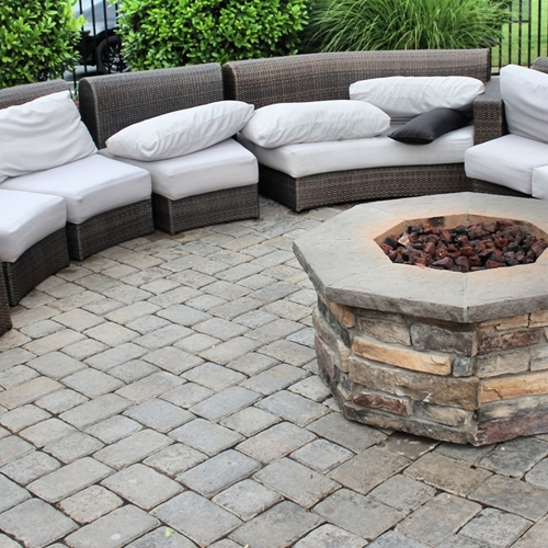 Fire pits offer the opportunity to have a controlled bonfire whenever you please.