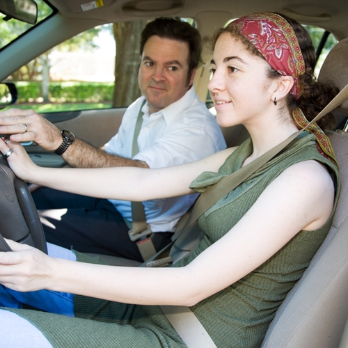Supervising your teen driver on his or her first few outings is key.